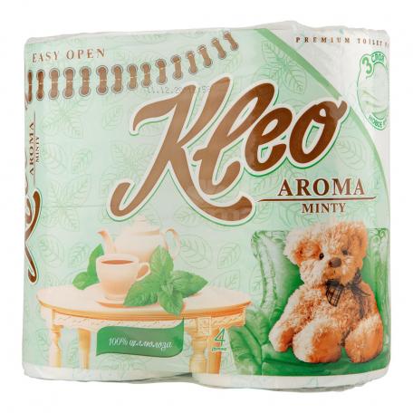 Զուգարանի թուղթ «Kleo Aroma» 4հատ