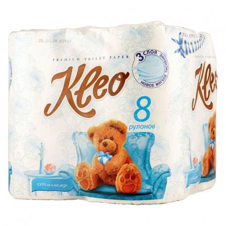 Զուգարանի թուղթ «Kleo Ultra» 8հատ