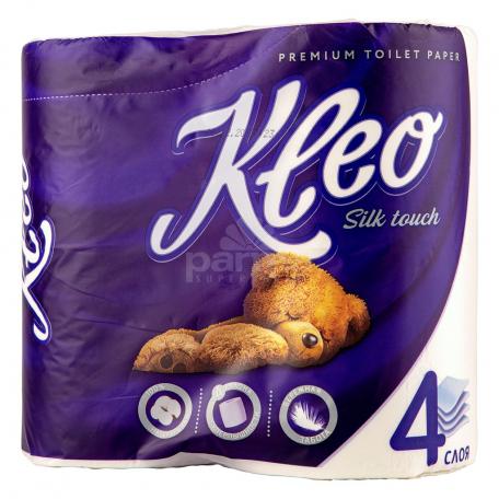 Զուգարանի թուղթ «Kleo Silk Touch» 4հատ