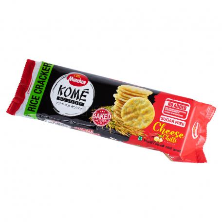 Կրեկեր «Munchee Kome Rice» պանրով, չիլի պղպեղով 90գ