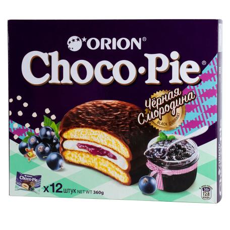 Թխվածքաբլիթ «Choco-Pie» սև հաղարջ 360գ