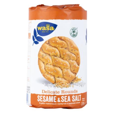 Հացիկ «Wasa» ծովի աղով, քունջութով 235գ