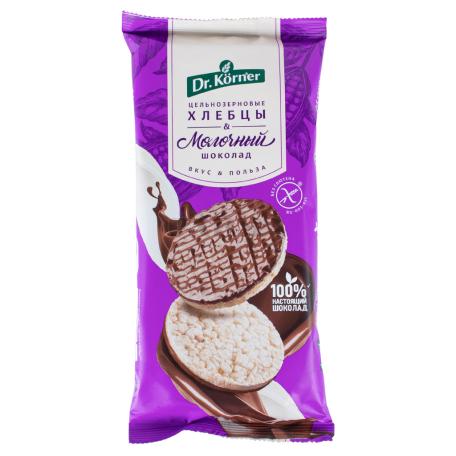 Հացիկ «Dr. Korner» բրինձ, կաթնային շոկոլադ 67գ