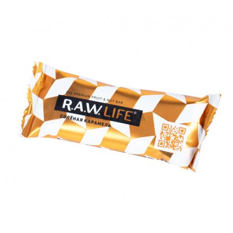 Բատոն «R.A.W. Life» աղի կարամել 47գ