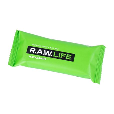 Բատոն «R.A.W. Life» մակադամիա 47գ