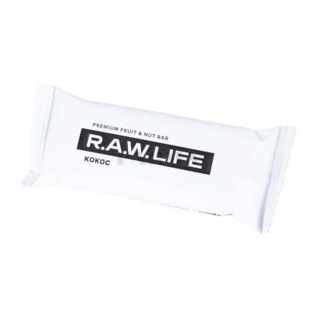 Բատոն «R.A.W. Life» կոկոս 47գ