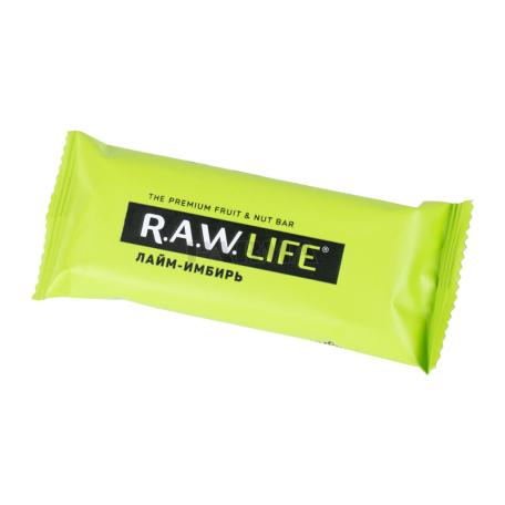 Բատոն «R.A.W. Life» լայմ, կոճապղպեղ 47գ