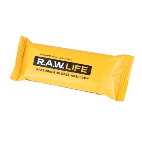 Բատոն «R.A.W. Life» նարինջ, բրազիլական ընկույզ 47գ