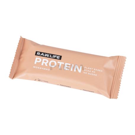 Բատոն «R.A.W. Life Protein» մոկաչինո 43գ