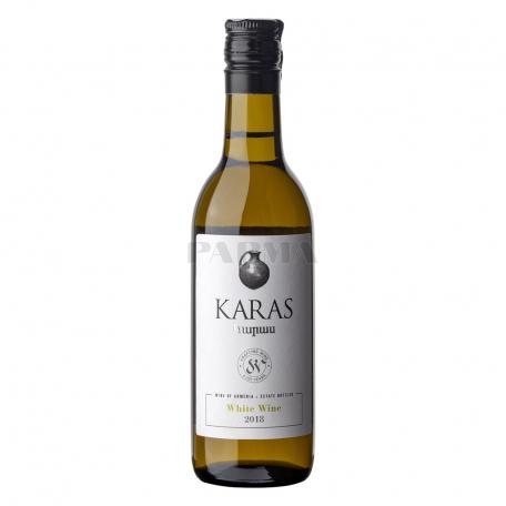 Գինի «Karas» սպիտակ, չոր 187մլ