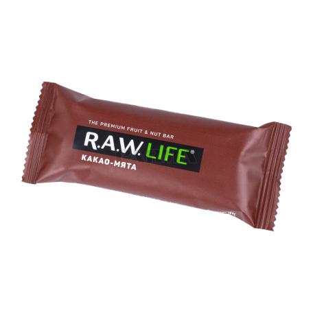 Բատոն «R.A.W. Life» կակաո, անանուխ 47գ