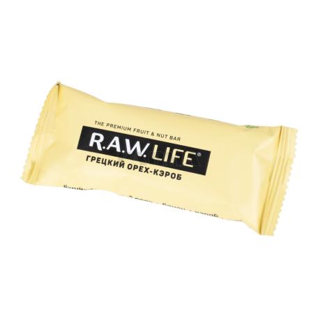 Բատոն «R.A.W. Life» ընկույզ, կարոբ 47գ