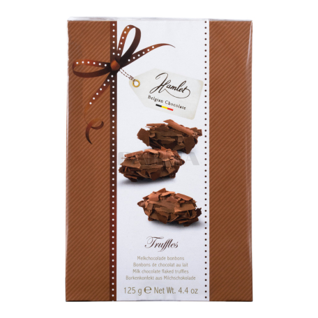 Շոկոլադե կոնֆետներ «Hamlet Truffles» կաթնային 125գ