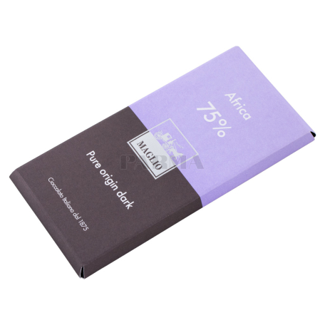 Շոկոլադե սալիկ «Maglio Africa 75%» մուգ 80գ