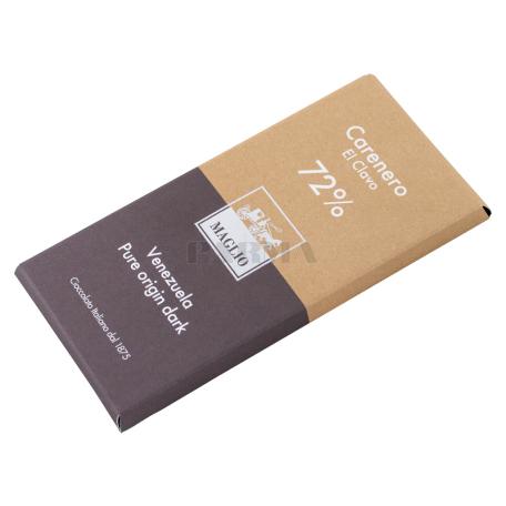 Շոկոլադե սալիկ «Maglio Carenero Venezuela 72%» մուգ 80գ