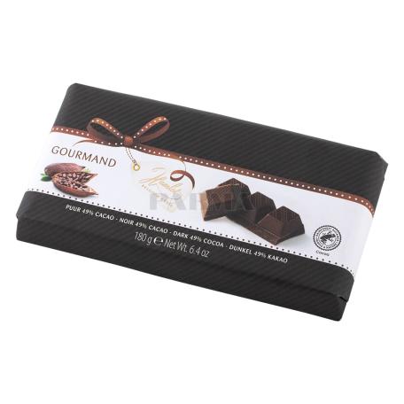 Շոկոլադե սալիկ «Hamlet Gourmand» մուգ 180գ