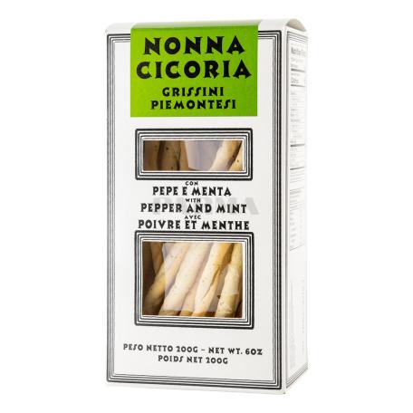 Հացիկ «Casa Vecchio Grissini Piemontesi» պղպեղով, անանուխով 200գ