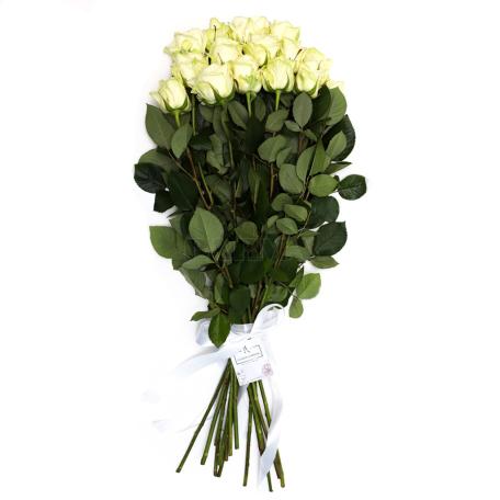 Ծաղկեփունջ «15 Սպիտակ Վարդ»