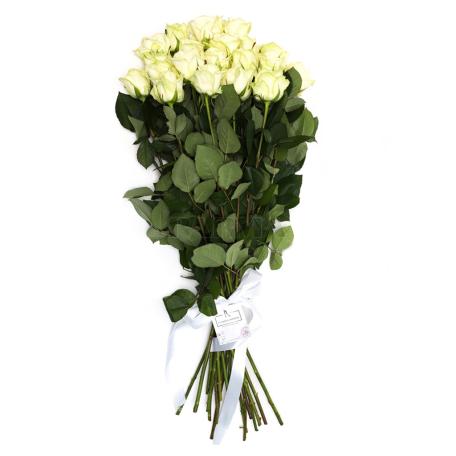 Ծաղկեփունջ «19 Սպիտակ Վարդ»