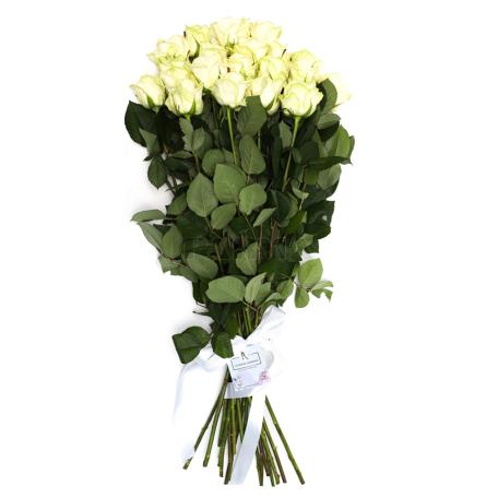 Ծաղկեփունջ «21 Սպիտակ Վարդ»