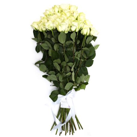 Ծաղկեփունջ «25 Սպիտակ Վարդ»