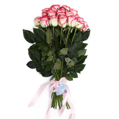 Ծաղկեփունջ «15 Վարդագույն Վարդ»