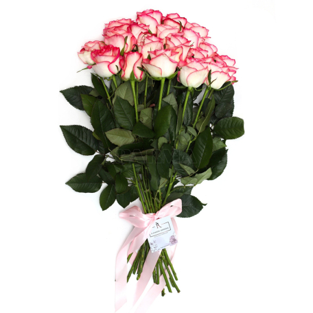 Ծաղկեփունջ «19 Վարդագույն Վարդ»