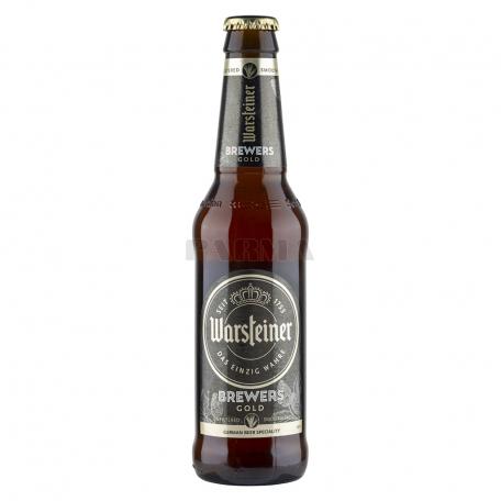 Գարեջուր «Warsteiner Brewers Gold» բաց 330մլ