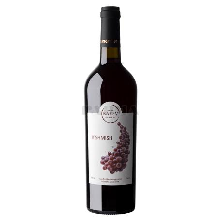 Գինի «Բարև Քիշմիշ» կարմիր, կիսաքաղցր 750մլ