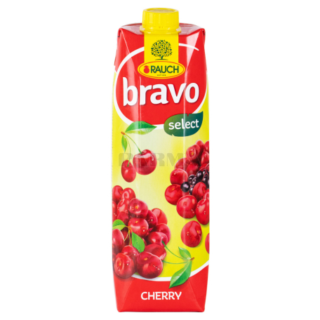Հյութ բնական «Bravo» բալ 1լ