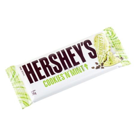 Շոկոլադե սալիկ «Hershey`s Cookies 'n' Mint» 39գ