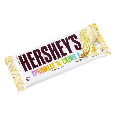 Շոկոլադե սալիկ «Hershey`s Sprinkles 'n' Creme» 39գ