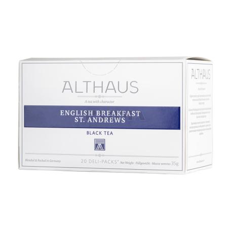 Թեյ «Althaus English Breakfast St. Andrews» 35գ