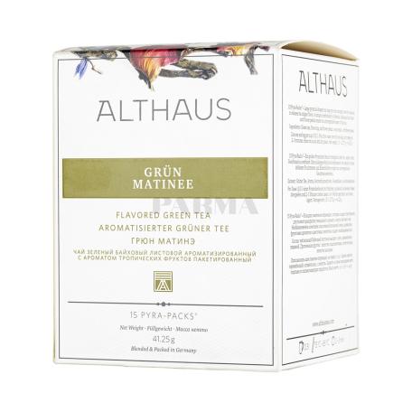 Թեյ «Althaus Grun Matinee» 41.25գ