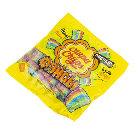Դոնդողանման կոնֆետներ «Chupa Chups Фансы» թթու 150գ