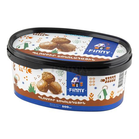 Պաղպաղակ «Finny» շոկոլադ 500գ