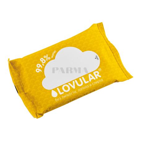 Անձեռոցիկ թաց «Lovular» մանկական, 10հատ