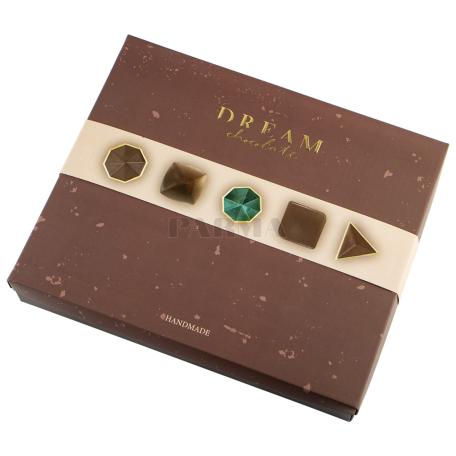 Շոկոլադե կոնֆետներ «Dream Chocolate» մուգ, հավաքածու 170գ