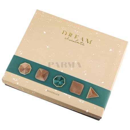 Շոկոլադե կոնֆետներ «Dream Chocolate» կաթնային, հավաքածու 170գ