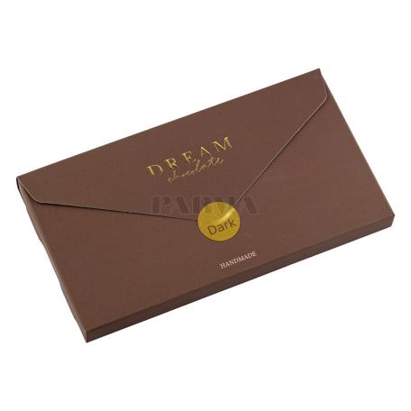 Շոկոլադե սալիկ «Dream Chocolate» մուգ, ծիրան, նուշ 115գ