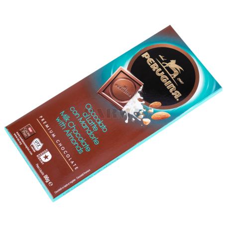 Շոկոլադե սալիկ «Perugina» կաթնային, կարամելացված նուշով 86գ