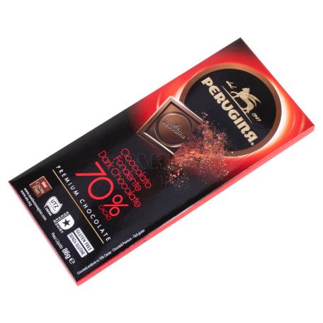 Շոկոլադե սալիկ «Perugina» մուգ 70%, 86գ
