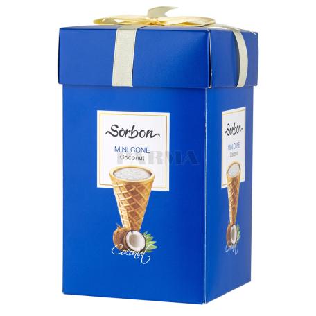 Շոկոլադե կոնֆետներ «Sorbon Mini Cone» կոկոսի միջուկով 200գ