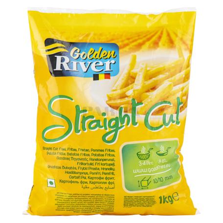 Կարտոֆիլ ֆրի սառեցված «Golden River Straight Cut» 1կգ