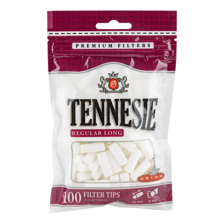Ֆիլտր «Tennesie Regular Long» ծխախոտի 100հատ