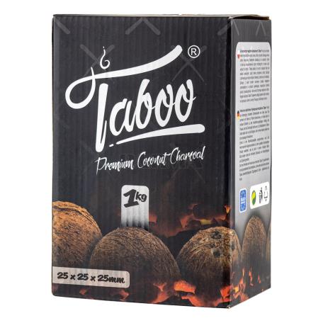 Ածուխ «Taboo Premium Coconut» նարգիլեի 1կգ