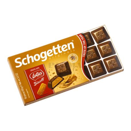 Շոկոլադե սալիկ «Schogetten» կաթնային 100գ