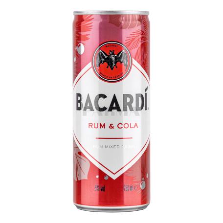 Ռոմ+ Կոլա «Bacardi» 250մլ
