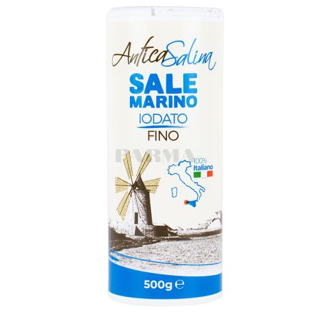 Աղ ծովի «Antica Salina» մանր 500գ