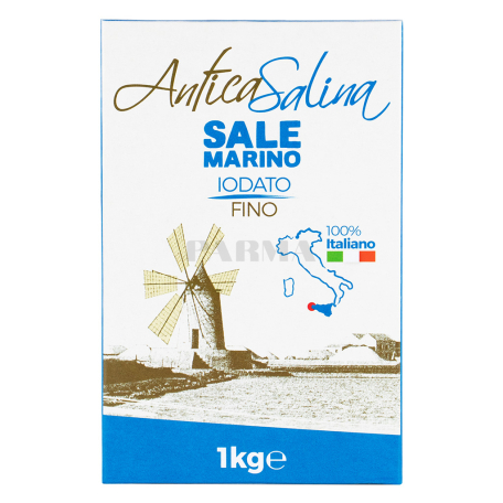 Աղ ծովի «Antica Salina» մանր 1կգ